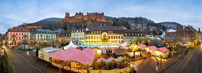 Weihnachtsmarkt in Heidelberg
