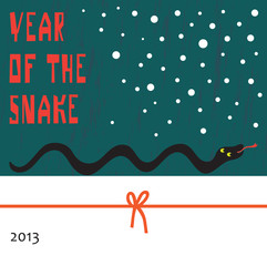 Chinese New Year 2013 Translation: Snake Year