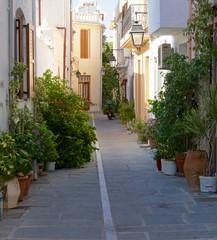 Тенистые улицы Ретимно.