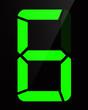 Chiffre digital - Numéro 6