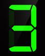 Chiffre digital - Numéro 3