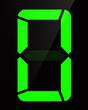 Chiffre digital - Numéro 0