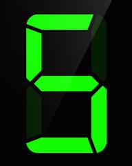 Chiffre digital - Numéro 5