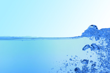 abstract blue water background