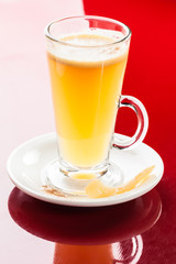 Mango lemon hot drink