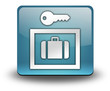 "Light Blue 3D Effect Icon ""Locker / Storage"""