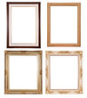 Set of vintage frame