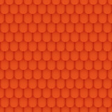 Seamless Roof Tile Pattern Orange