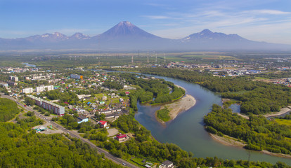 Tawn Elizovo in Kamchatka