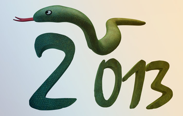 New Year 2013 - Year of  Snake