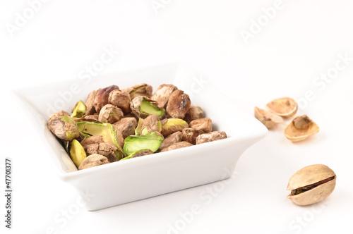i pistacchi nella ciotolina