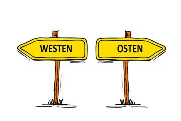 Westen...Osten