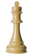 Ajedrez rey blanco