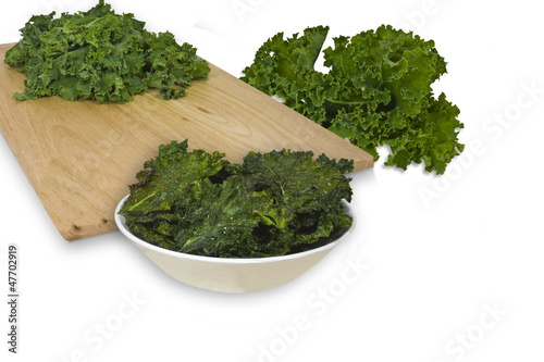 Kale Chips illustrating ingredents
