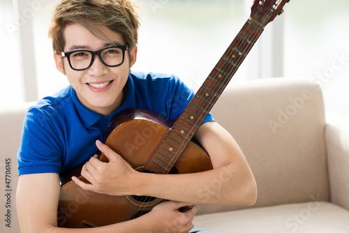 Guitar fan