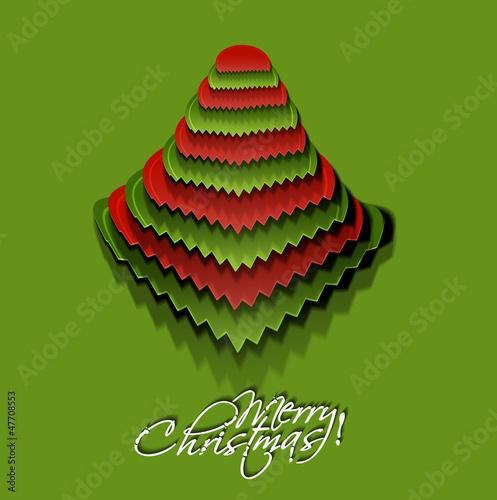 christmas tree, design, vector illustration.