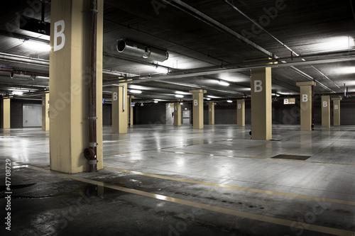 Poster Tunnel parcheggio sotterraneo