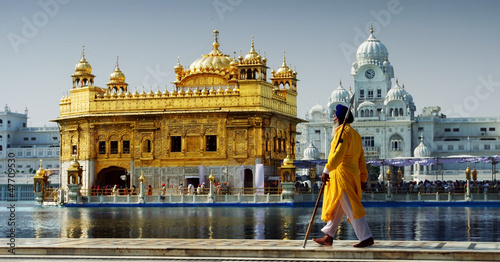 Fotobehang India Amritsar