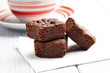 chocolate brownies dessert