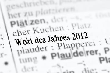 Wort des Jahres 2012
