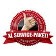 XL Service-Paket! Button, Icon