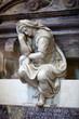 Florence - Santa Croce.Tomb of Michelangelo Buonarroti