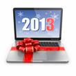 Laptop gift.