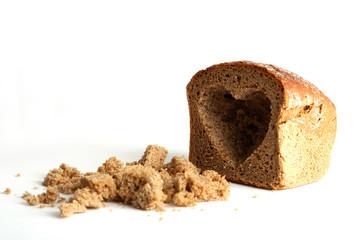 Herz im Brot