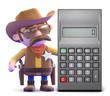 Calculating cowboy