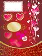 バレンタイン 赤素材