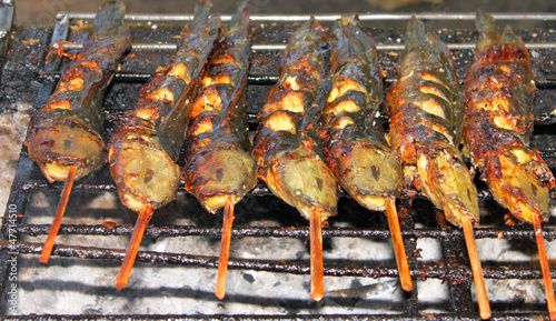 Grilled catfish