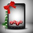Tablet in Christmas spirit