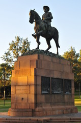 Monument to Louis Botha by Union Buildings, Pretoria