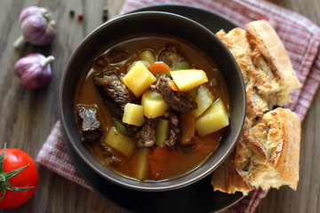 Hungarian soup goulash