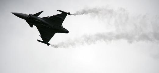 Saab jet