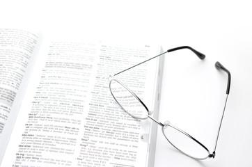 めがね 銀メタル 辞書