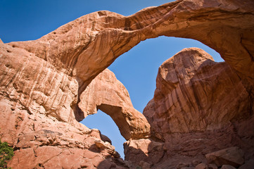 Double Arch - Arches National Park, Utah - USA