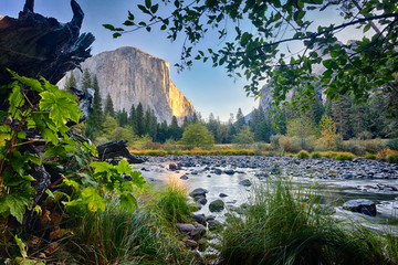 El Capitan, Merced River, Yosemite NP