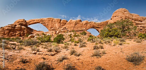 The windows - Arches National Park, Utah - USA