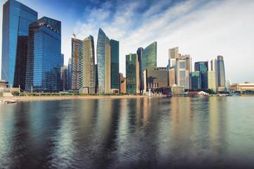 Singapore CBD Skyline