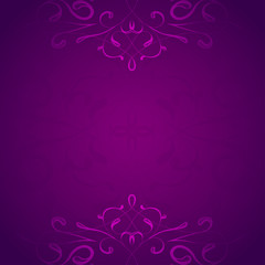 Retro styled violet vector background