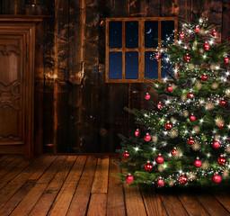 Weihnachtliches Zimmer