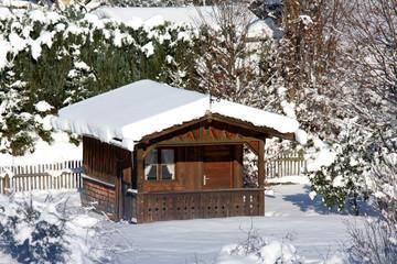 Hüttenferien im Winter