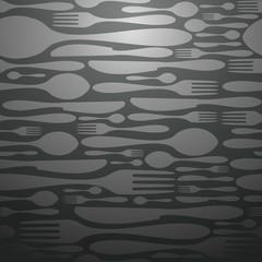 Luxury restaurant pattern background