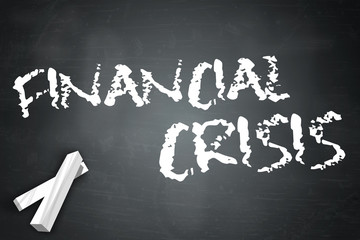 "Blackboard ""Financial Crisis"""