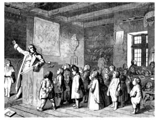 School Scene - 17th century