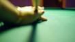 HD - Billiard ball hit the camera