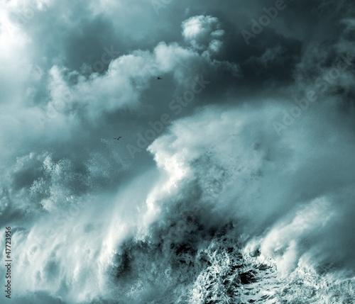Stormy wave © Zacarias da Mata
