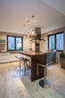 Travertine house - contemporary kitchen