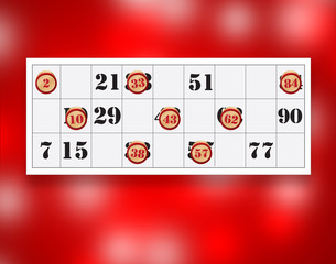 bingo number party